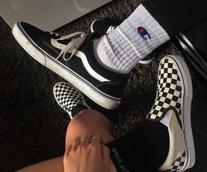 aesthetic, fashion, and vans image