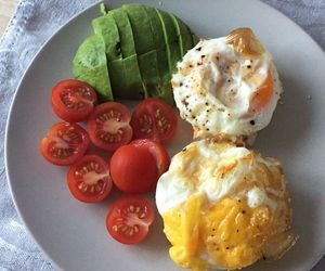 breakfast, egg, and fitness image