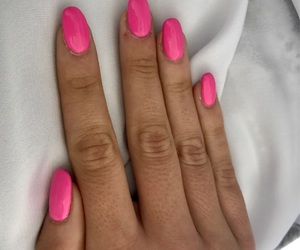 fuxia, nail art, and fluo image