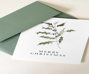 christmas card, paper goods, and a6 envelope image