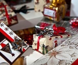 christmas, merry christmas, and present image