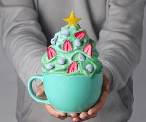 food, christmas, and fruit image
