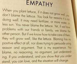 empathy, quote, and love image
