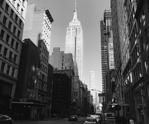 building, empire, and new york image