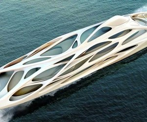 design, yacht, and zaha hadid image