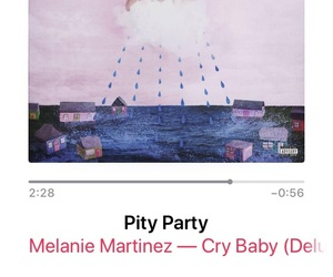 cry baby, music, and pity party image