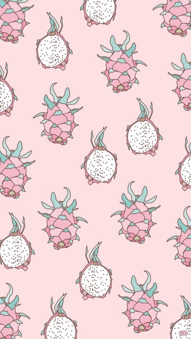 fruit, pink, and wallpaper image