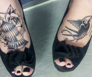 foot tattoo image