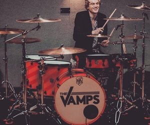 drummer, vamps, and tristan evans image