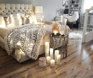 beautiful, fashion, and bed bedroom room image