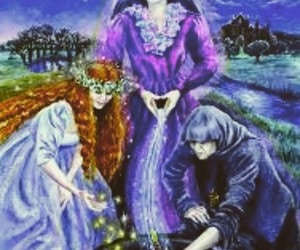 crone, magick, and maiden image