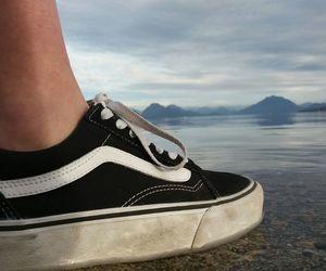beutiful, lake, and vans image