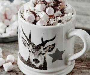 aesthetic, tumblr, and hot ​chocolate image