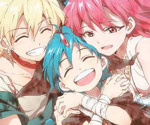 magi, morgiana, and aladdin image