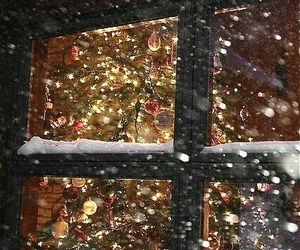 christmas, romantic, and snow image