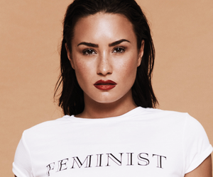 beauty, d, and demi lovato image