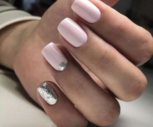holidays, pink, and silver image