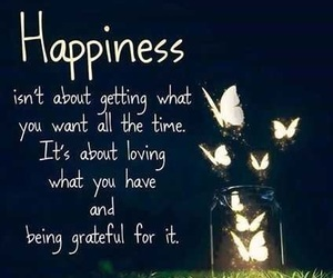 happiness, quotes, and grateful image