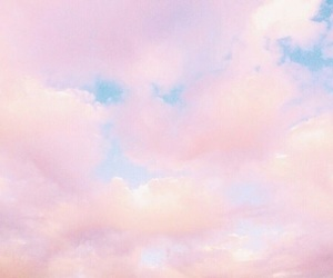 pastel, sky, and soft image