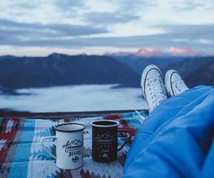 coffee, cold, and converse image