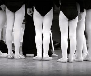 ballet, dance, and ballet huddle image