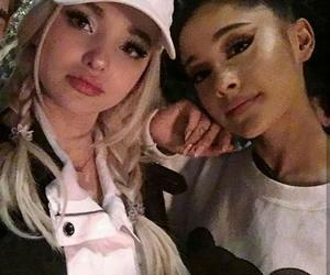 ariana grande, dove cameron, and dove image