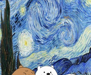 art, wallpaper, and we bare bears image