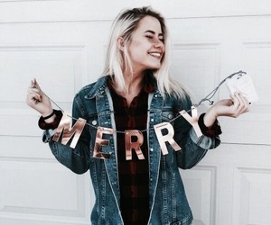 girl, fashion, and christmas image
