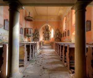 abandoned, canon, and church image