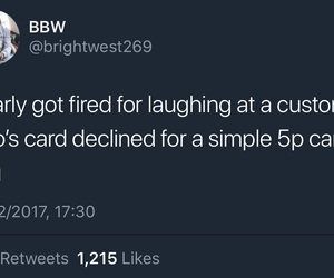 card, Decline, and fired image