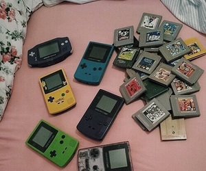 90s, gameboy, and games image
