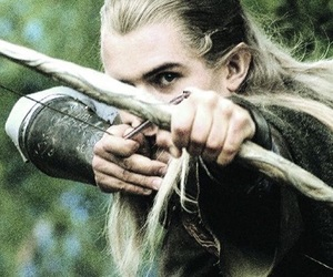 Legolas, lord of the rings, and orlando bloom image