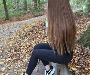 girl and hair image