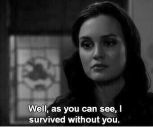 quotes, gossip girl, and blair waldorf image