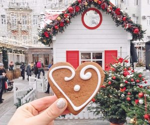cookie, winter, and food image