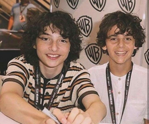 finn wolfhard, fack, and it image
