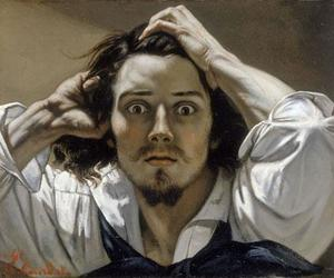 gustave courbet, art, and painting image