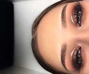 eye, makeup, and eyemakeup image