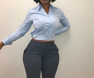 classy, curves, and fashion image