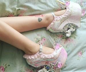 fashion, shoes, and kawaii image