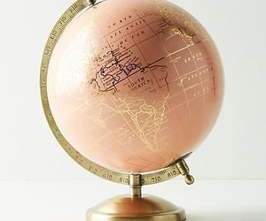 world and rosegold image