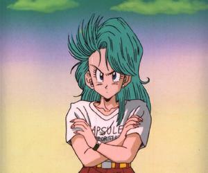 anime, bulma, and dragon ball z image