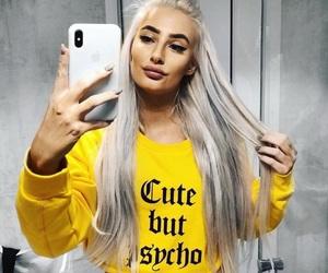 fashion, inspiration, and yellow theme image