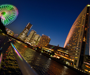 cool, japan, and ferris wheel image
