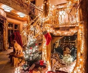 christmas, lights, and holiday image