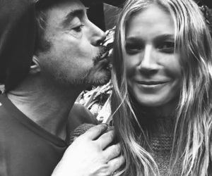 couple, gwyneth paltrow, and iron man image