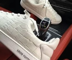 luxury, Louis Vuitton, and sneakers image
