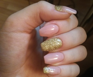 nail, nails, and spring nails image