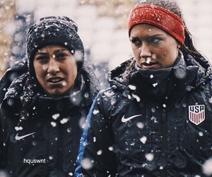 soccer, uswnt, and christen press image