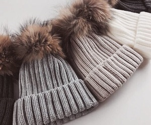 beanie, winter, and letsgetmorehearts image